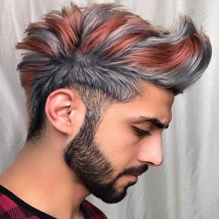 Men Hair Coloring